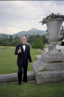 Me at Powerscourt - Dublin